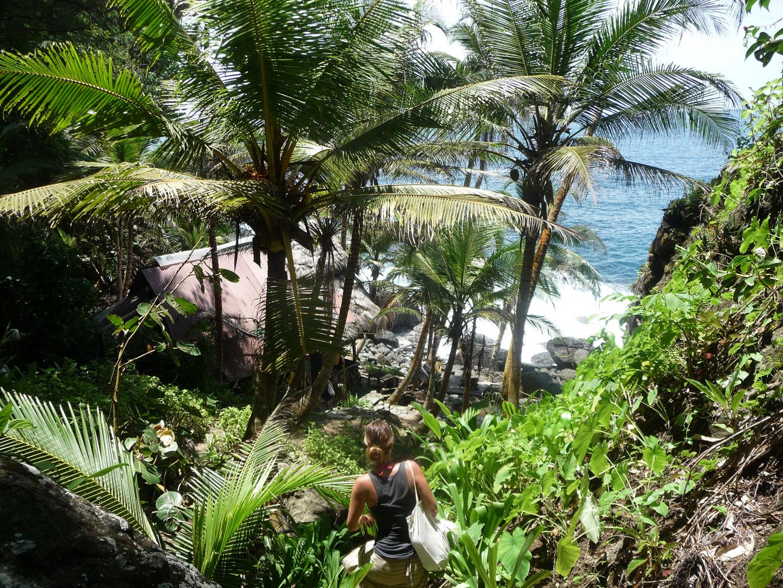 la coquerita piscine naturelle capurgana colombie