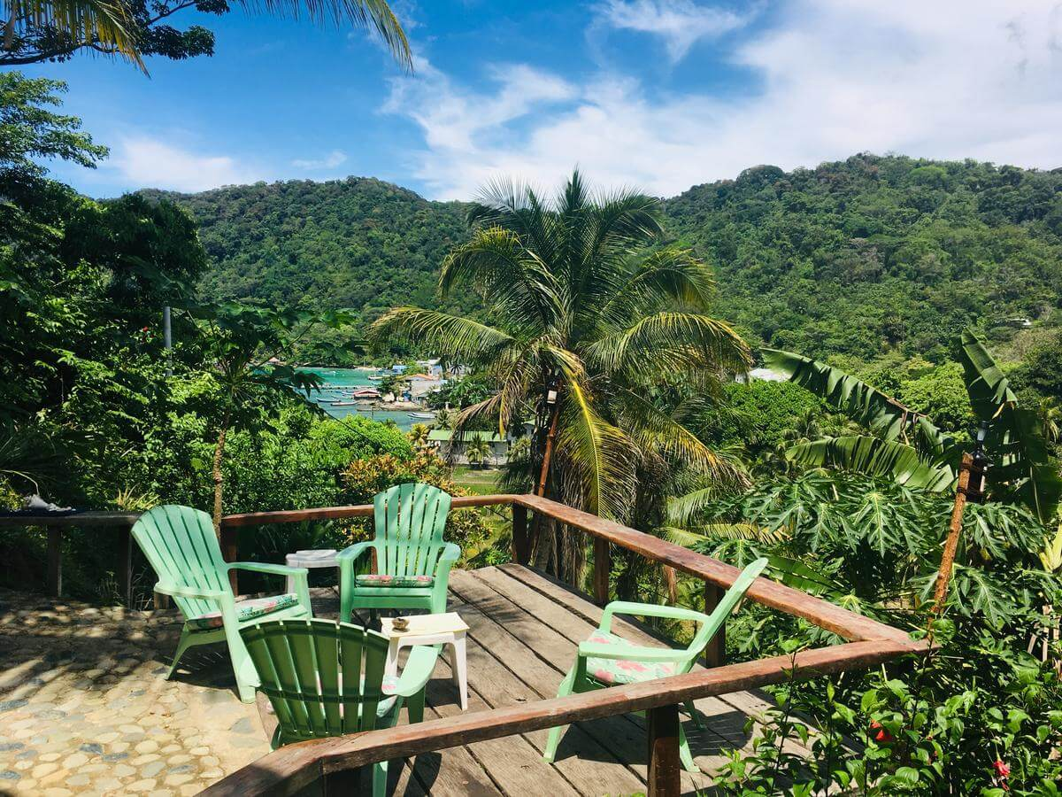 hostel à sapzurro casa mola voyage en Colombie