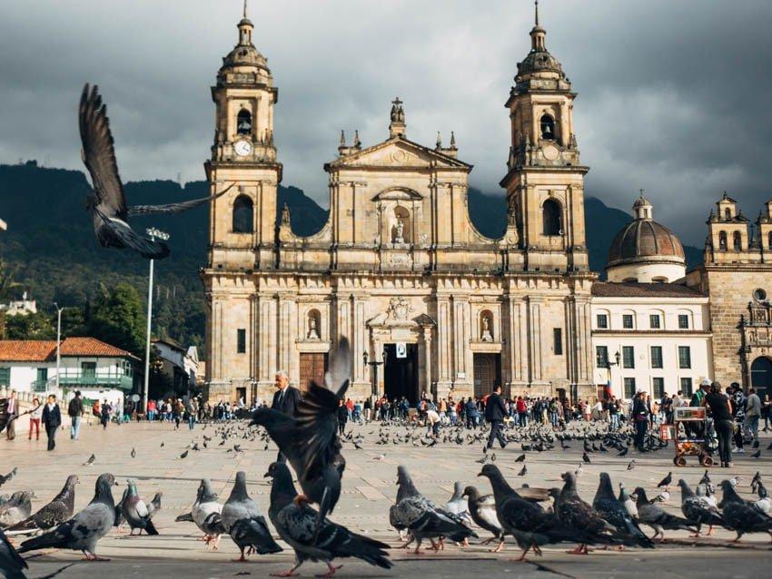 Plaza Bolivar de Bogota