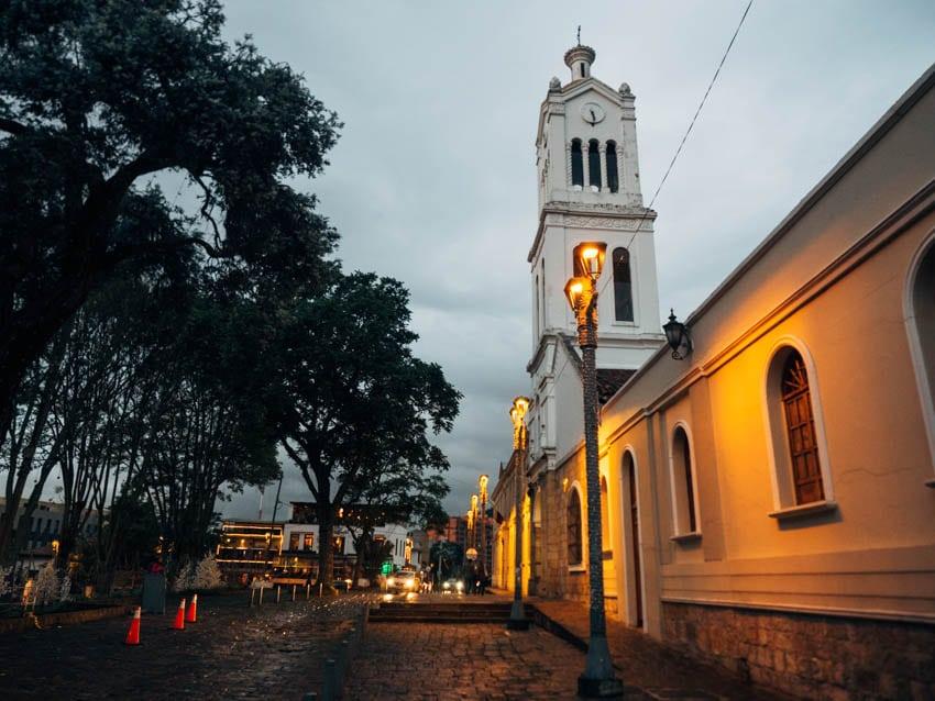 Visiter le quartier d'Usaquen à Bogota