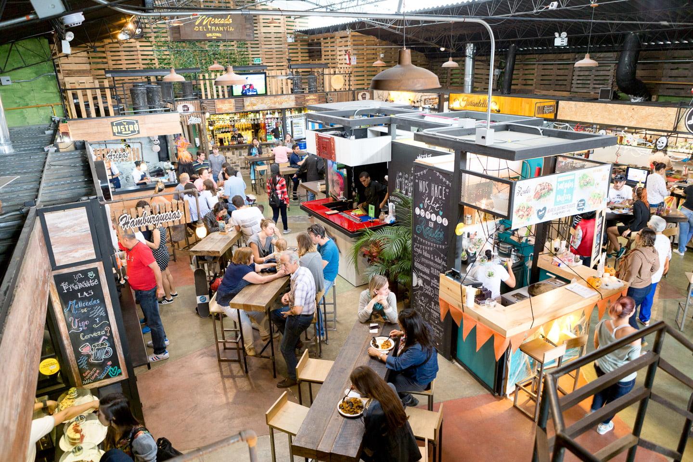 Mercado del tranvia, un nouveau food court incontournable à Medellin