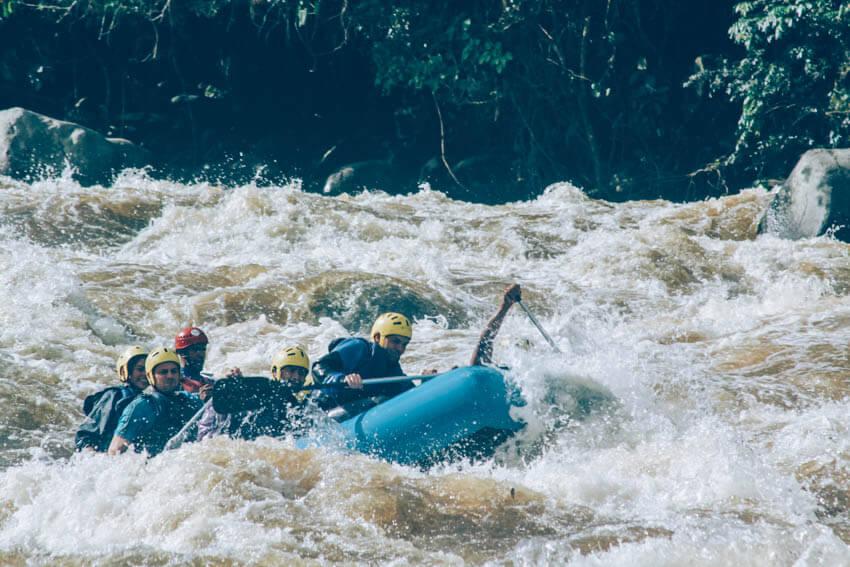 rafting autres activités à san agustin voyage en colombie