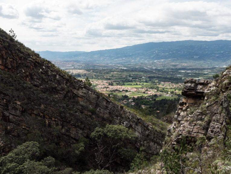 montagne à villa de leyva voyage en Colombie