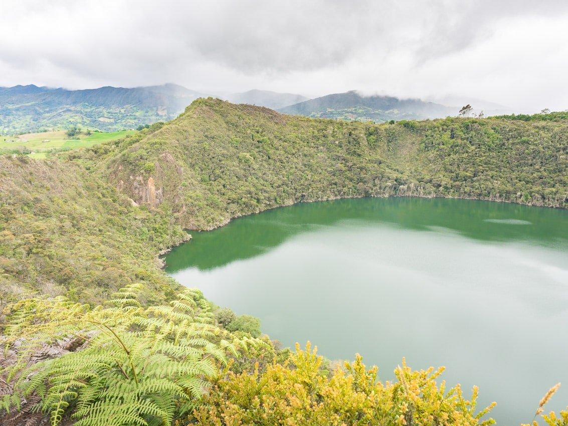Visiter la Lagune de guatavita proche de Bogota