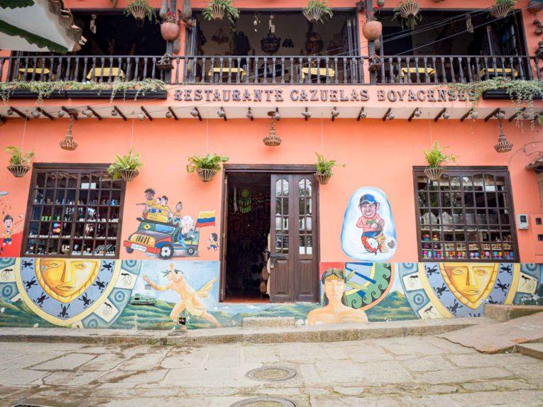 Hommage à Nairo Quintana à Raquira en Colombie