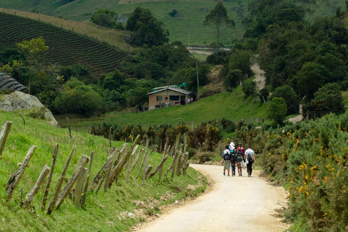 balades alternatives écologiques autour de Bogota