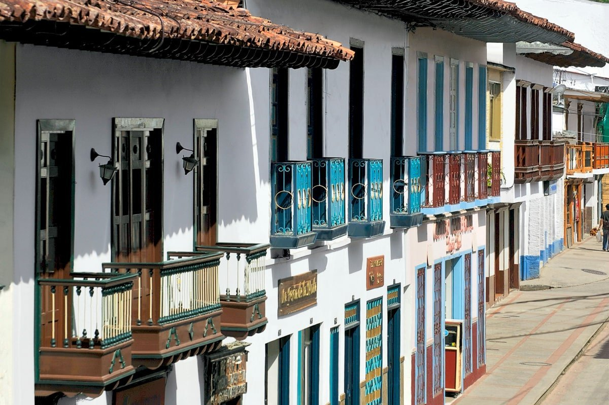 Salamina joli village patrimoine de la Colombie