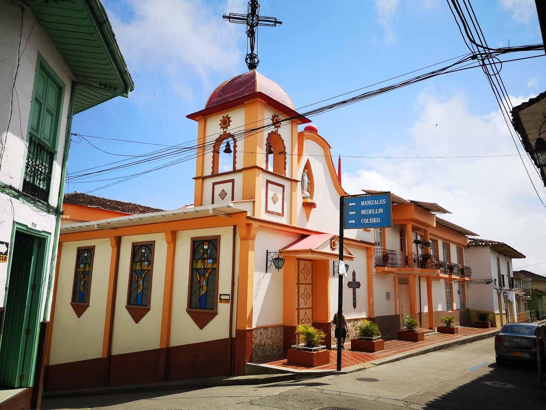 Aguadas village patrimoine de Colombie