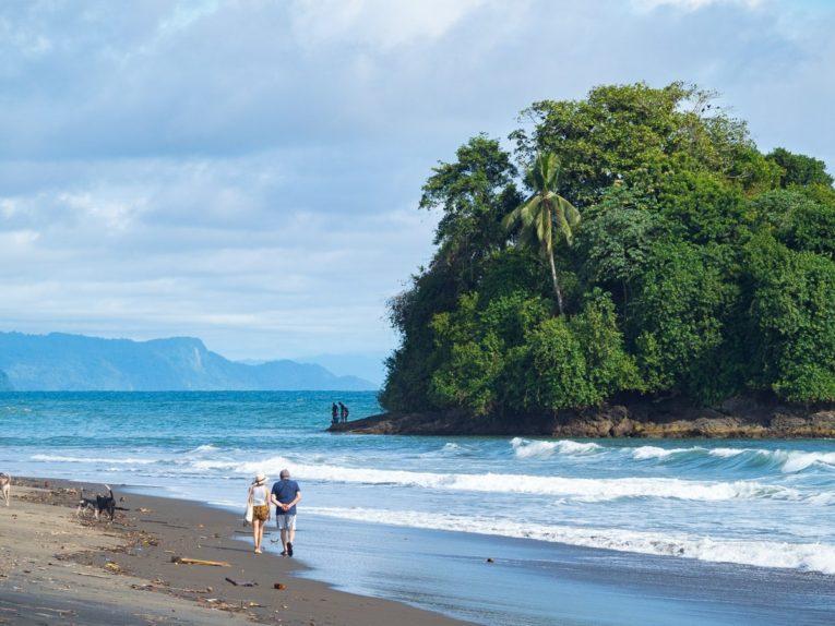 Plage del Valle, Bahia Solano sur la côte pacifique de la Colombie