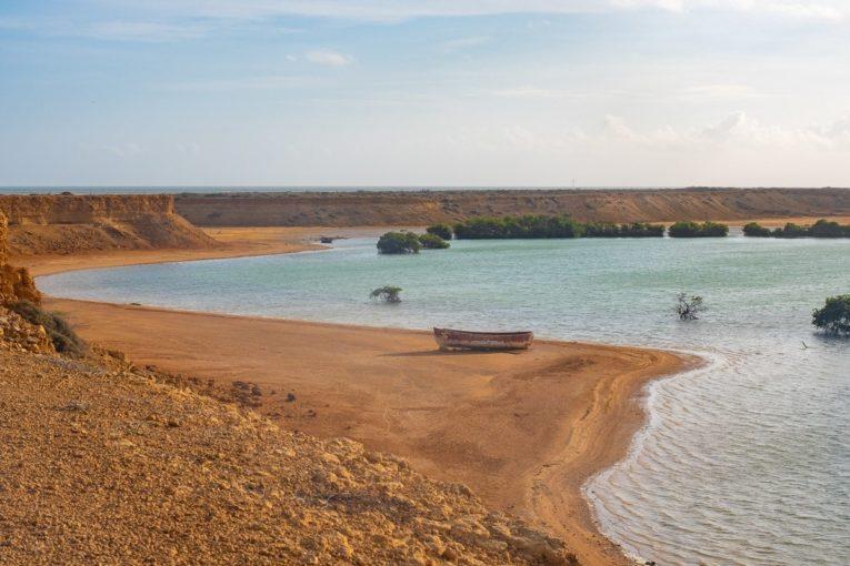 Les couleurs de Bahia Honda, à Punta Gallinas dans le désert de la Guajira en Colombie