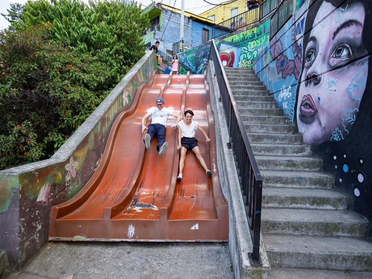 Visiter la Comuna 13 et faire un Graffiti Tour à Medelli