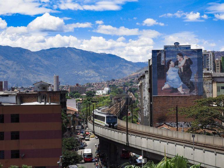 visiter le centre de Medellin en Colombie