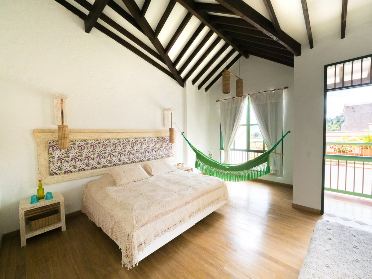 hotel el despertar à jerico beau village de Colombie