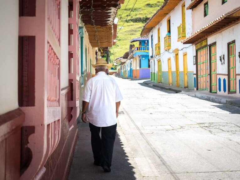 visiter jerico beau village de colombie