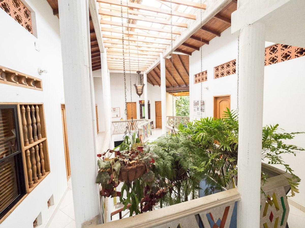 hotel hostal cartagena santa marta caraibe voyage colombie