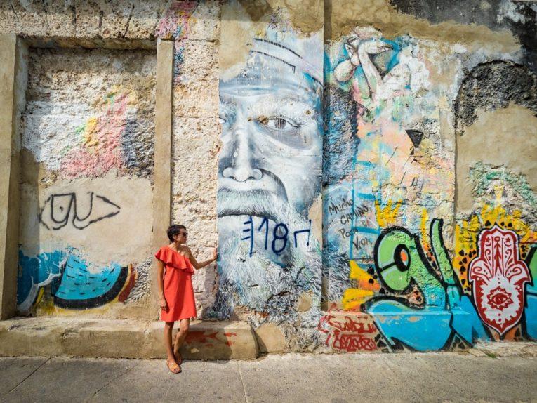 visiter getsemani et les oeuvres de street art lors d'un voyage à cartagena en colombie