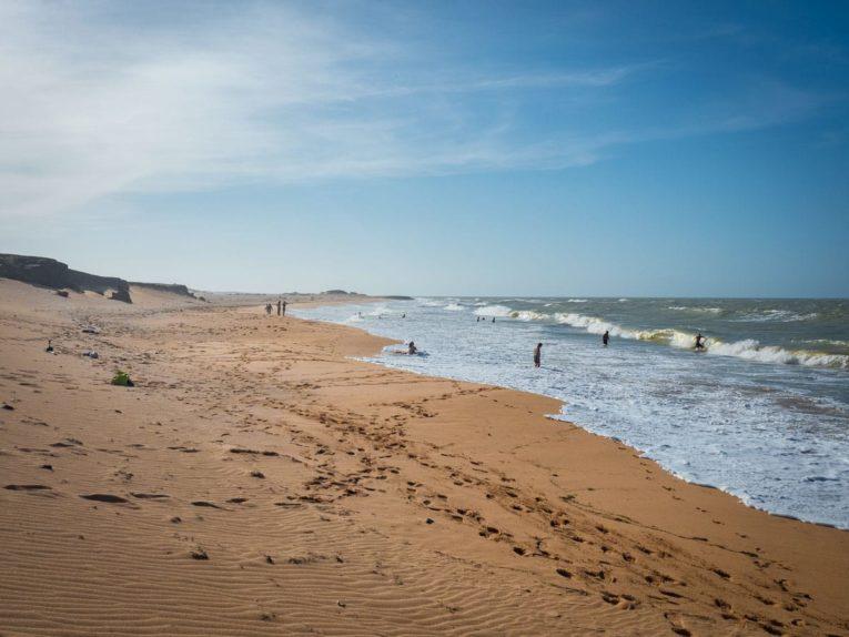 dunes de taroa punta gallinas desert la guajira colombie