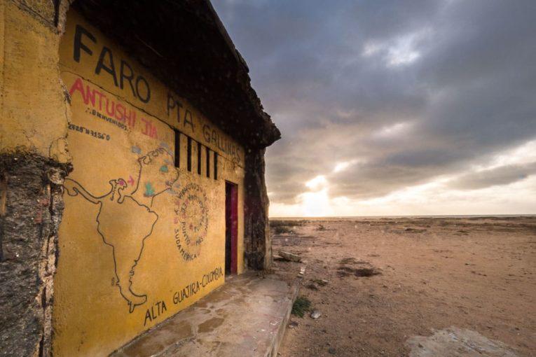 phare punta gallinas desert la guajira colombie