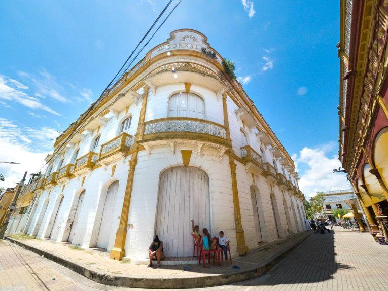 centre historique de Lorica Village patrimoine de la Caraibe en Colombie