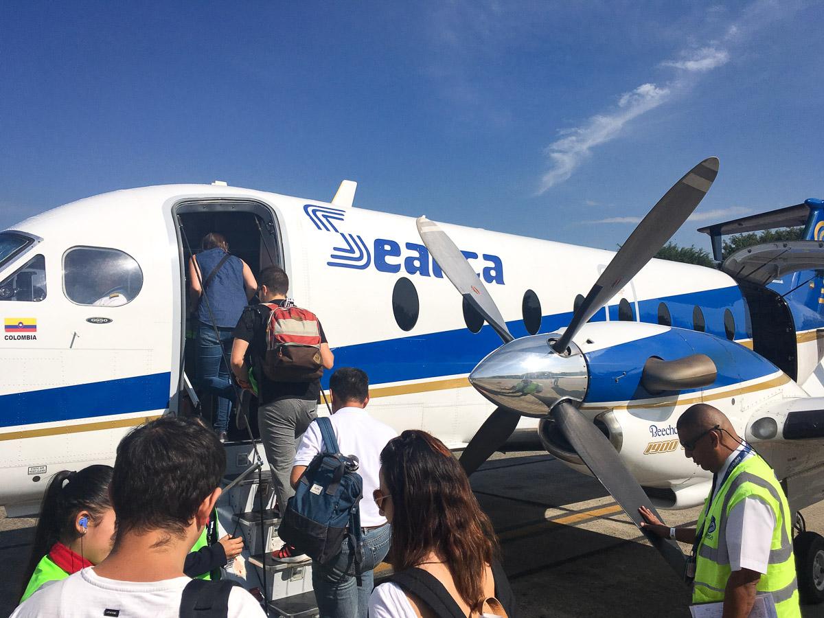 Prendre un vol intérieur en Colombie