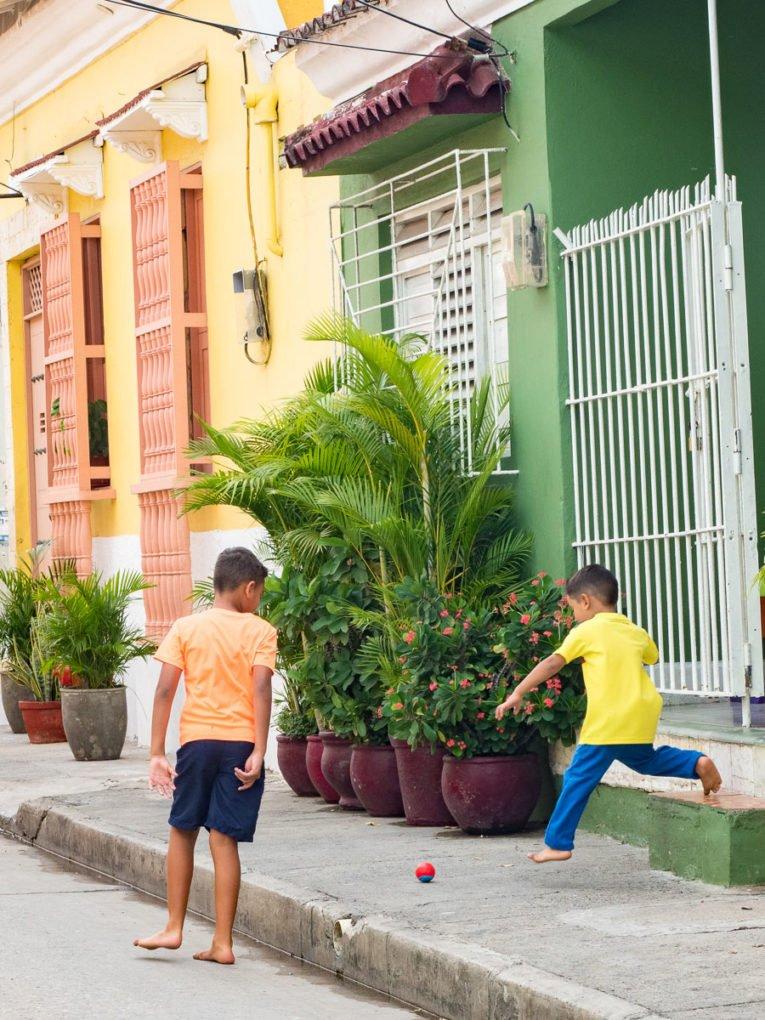 Histoire du quartier populaire de Getsemani à Cartagena, Colombie