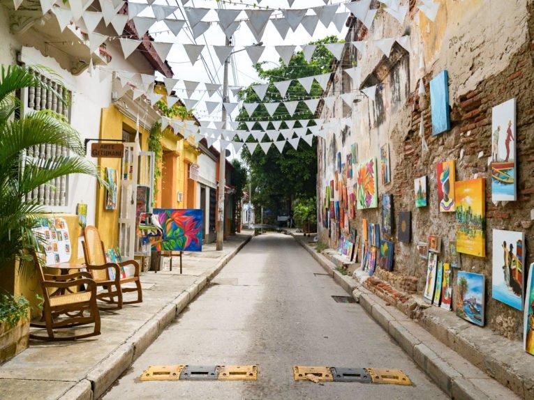 Getsemani, Histoire et Street Art à Cartagena / Voyage en Colombie