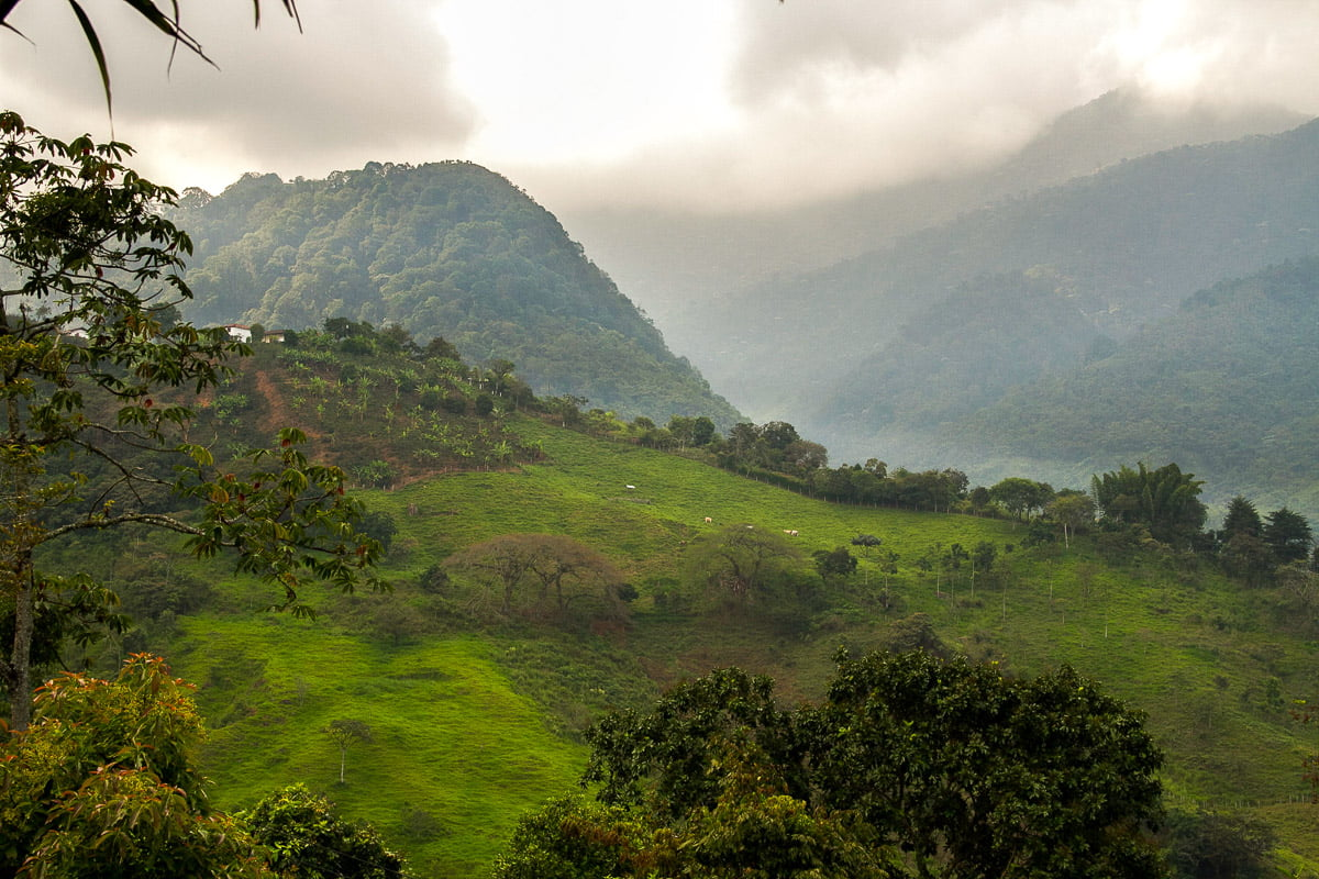 Parc Farallones visites aux alentours de cali en colombie