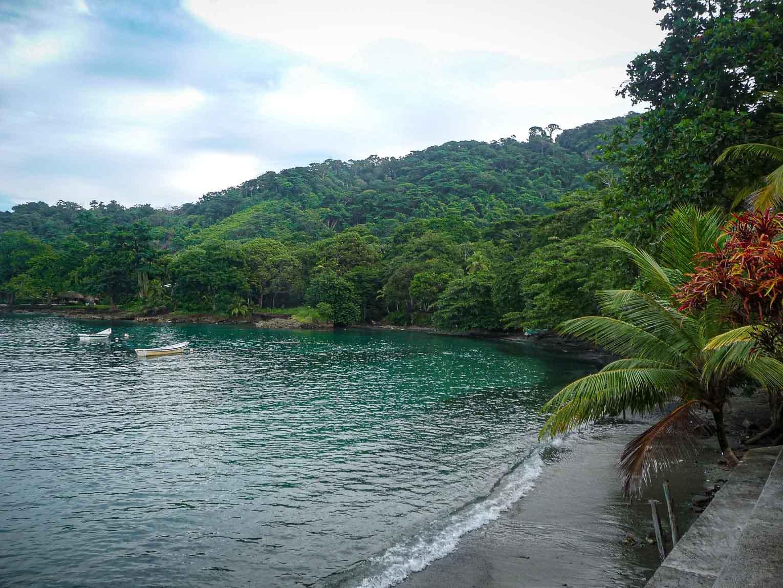 Bahia El Aguacate autour de Capurgana en Colombie