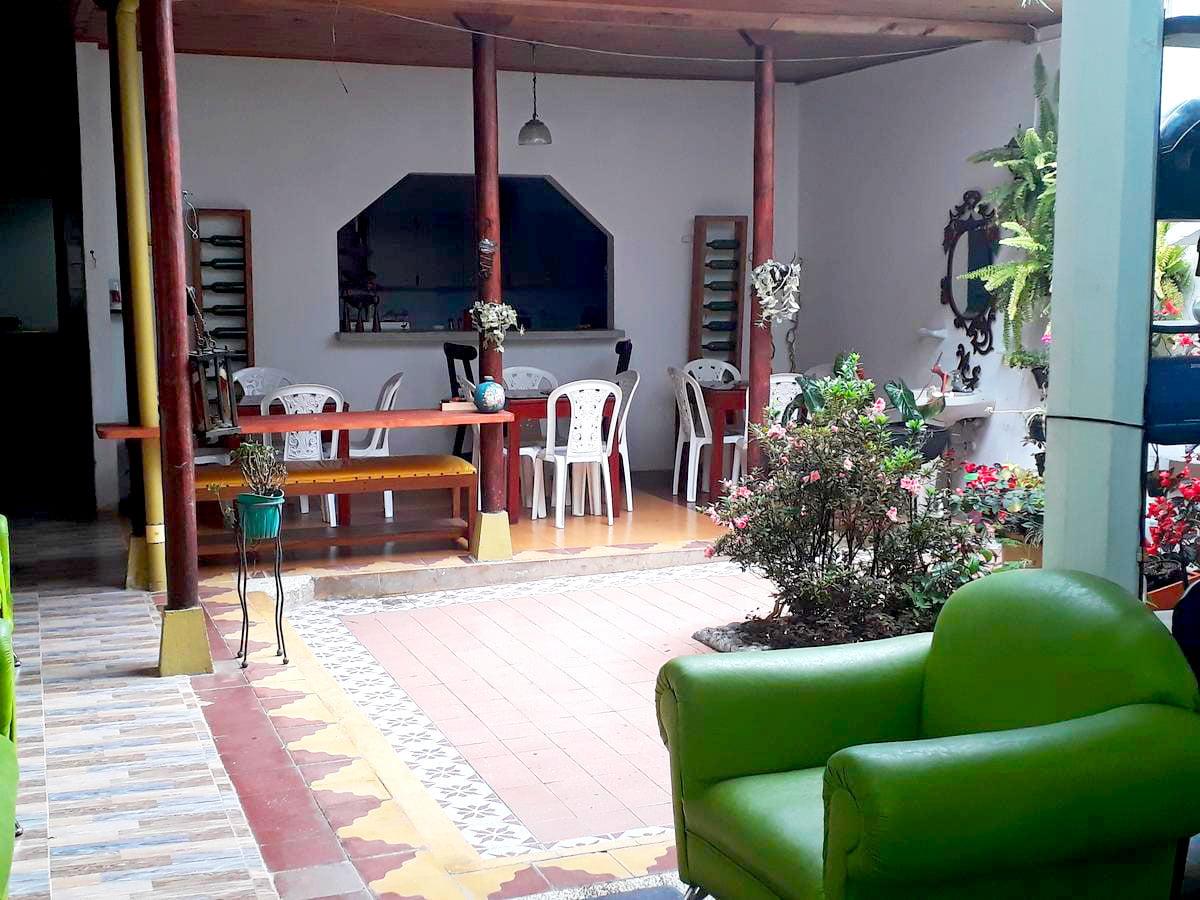 hostal romana à jardin en Colombie