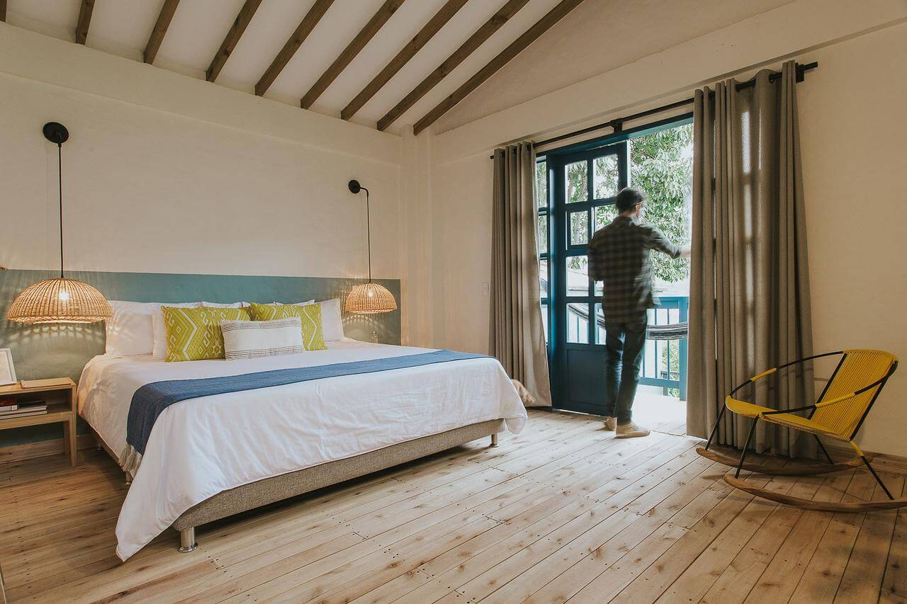hotel de charme à jardin, hotel plantacion