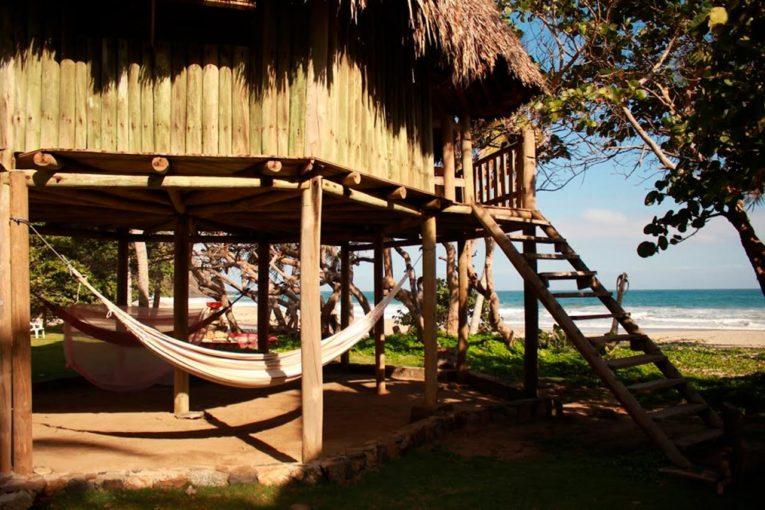 Playa Brava, secteur Calabazo dans le Parc Tayrona en Colombie