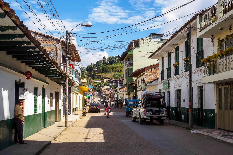 Pueblo de San Agustín en Huila en Colombia