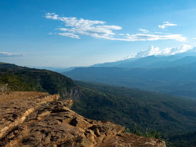 Salto del mico à Barichara en Colombie