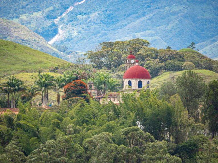 Guadalupe dans le Santander en Colombie