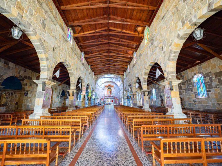Eglise de Guadalupe, joli village du Santander en Colombie