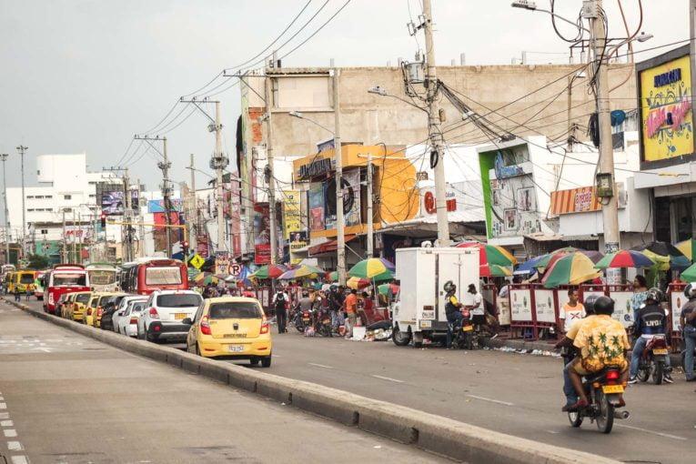 Visite guidée du marché de Bazurto à Cartagena en Colombie
