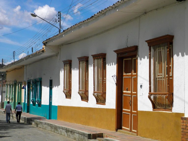 Curiti, village proche San Gil en Colombie