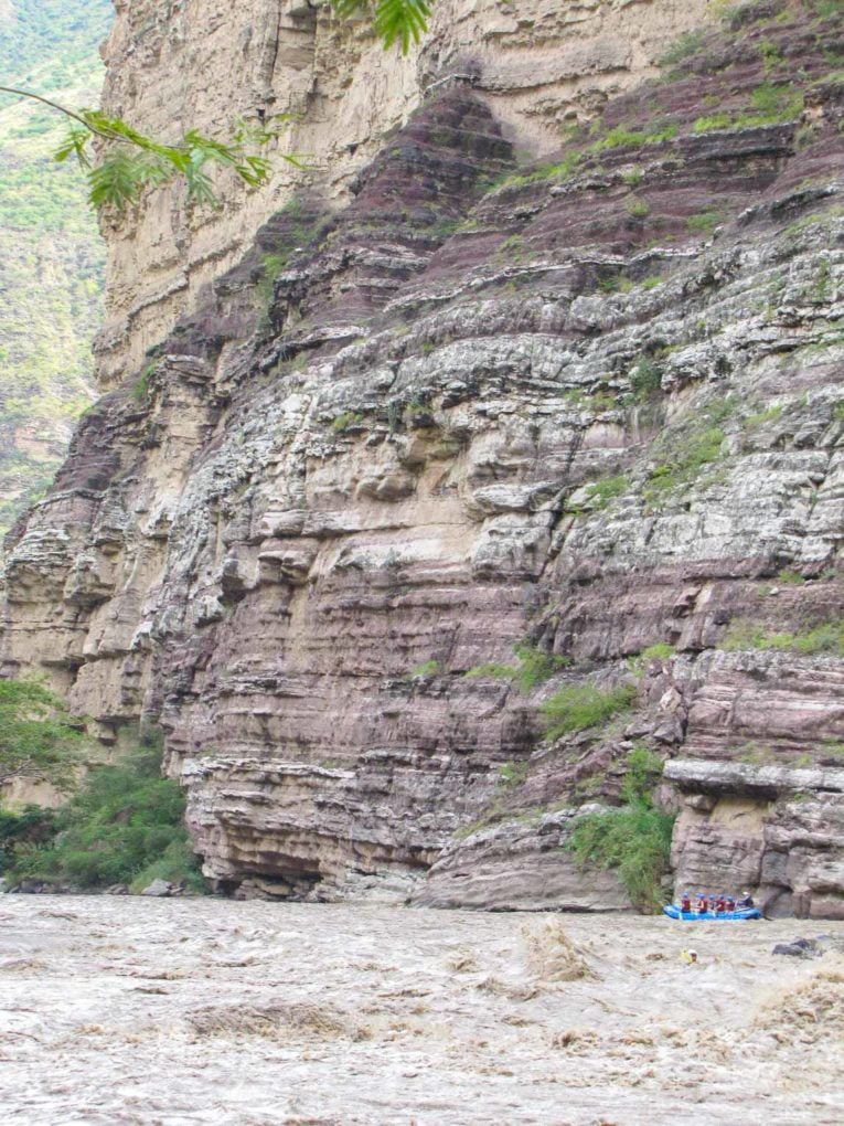 Rafting dans le canyon de Chicamocha en Colombie