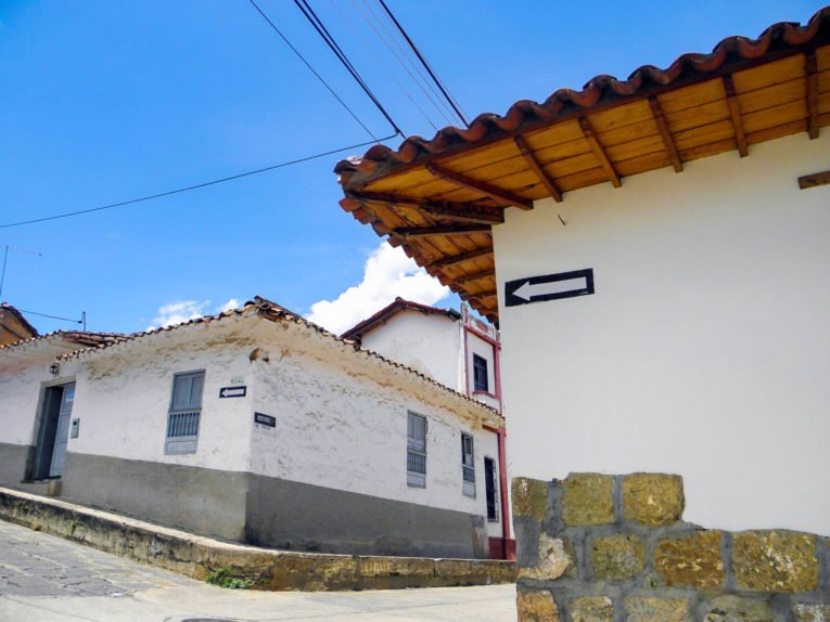 Socorro, village proche de San Gil dans le Santander en Colombie