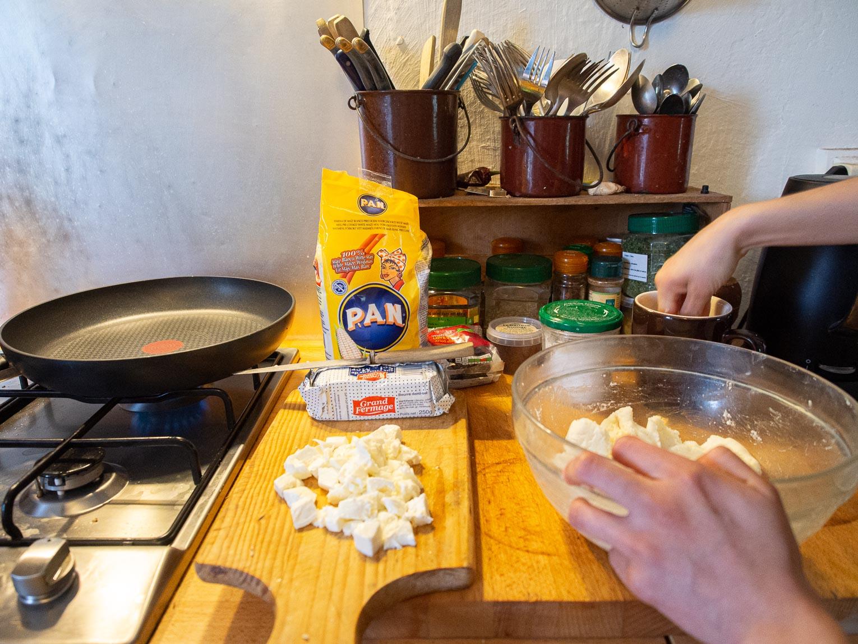 Recette pour faire les arepas colombiennes
