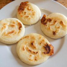 Arepas de queso, recette colombienne