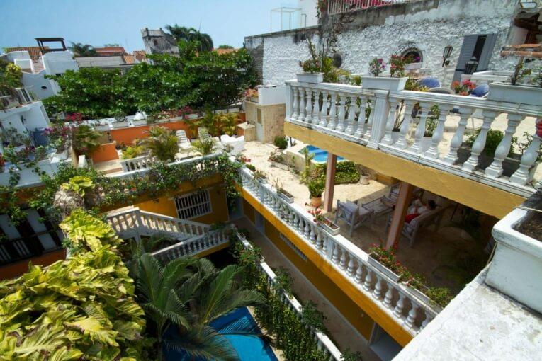 Où loger à Cartagena, bons plans d'hotel dans le centre historique