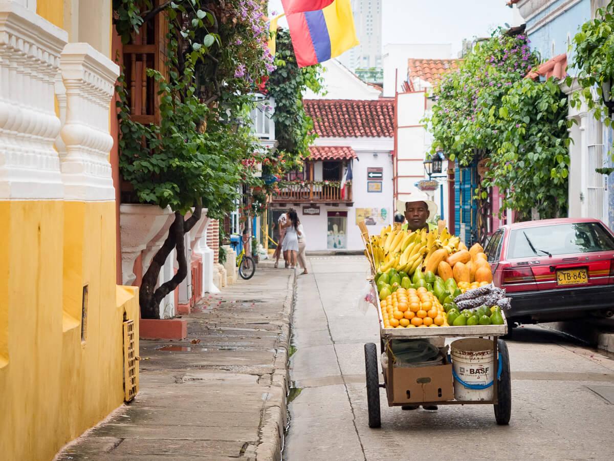 Transfert et transports pour se rendre à Carthagène des indes en Colombie