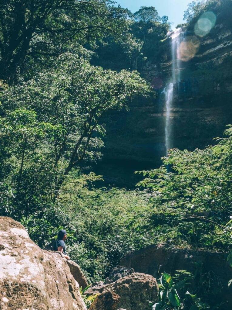 Visiter la cascade Juan Curi, la plus belle cascade du Santander en Colombie