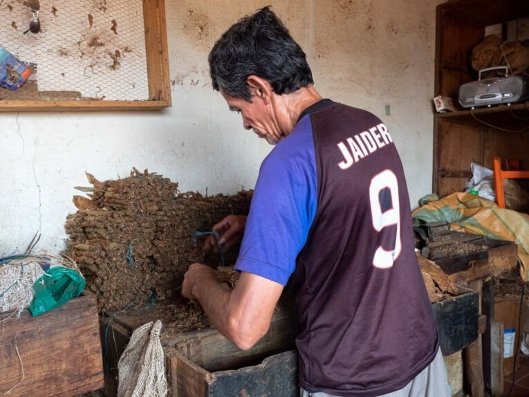 Visiter une fabrique de tabac à Giron dans le Santander en Colombie