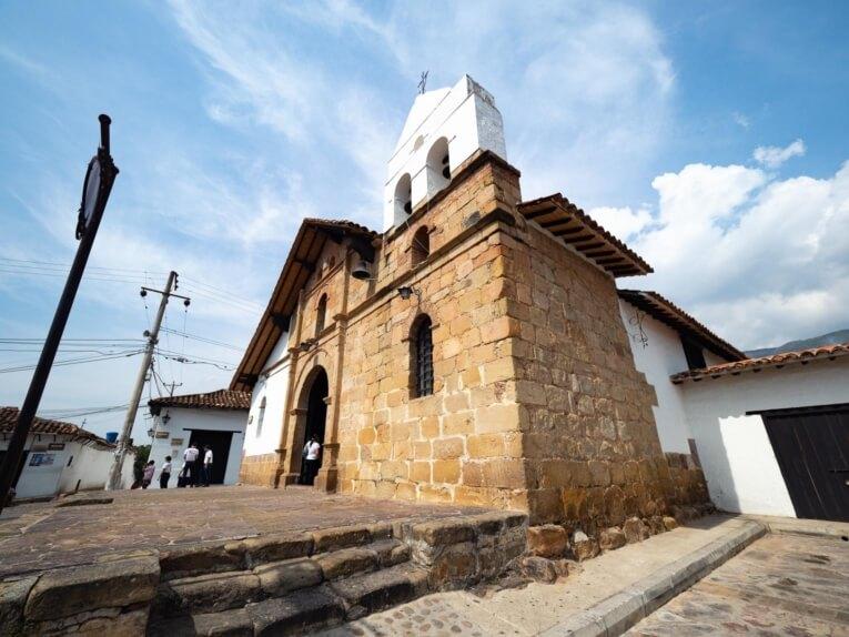 Petite chapelle de la Nieves à Giron en Colombie
