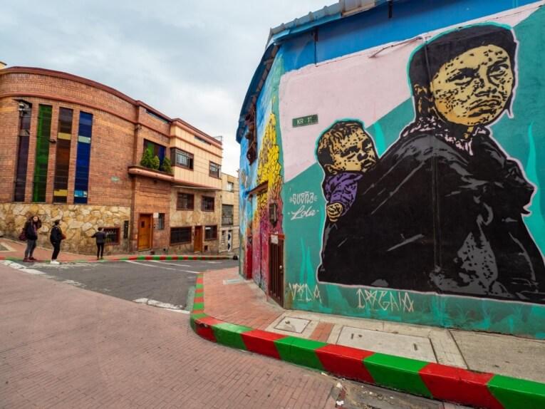 Street art La Candelaria Bogota