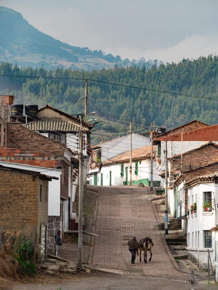 village de Mongui Boyaca