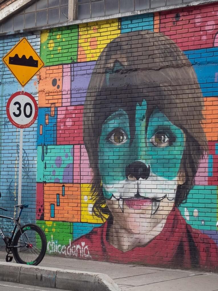 Sistrito Grafitti Bogota